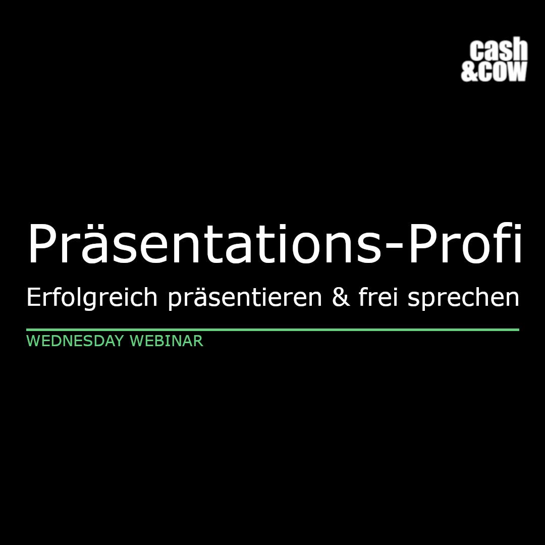 Präsentations-Profi: Erfolgreich präsentieren und frei sprechen