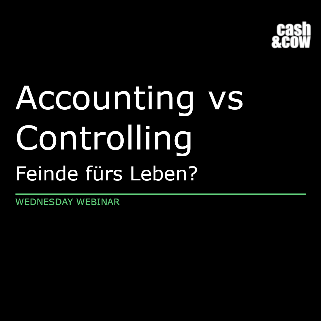 Accounting vs Controlling